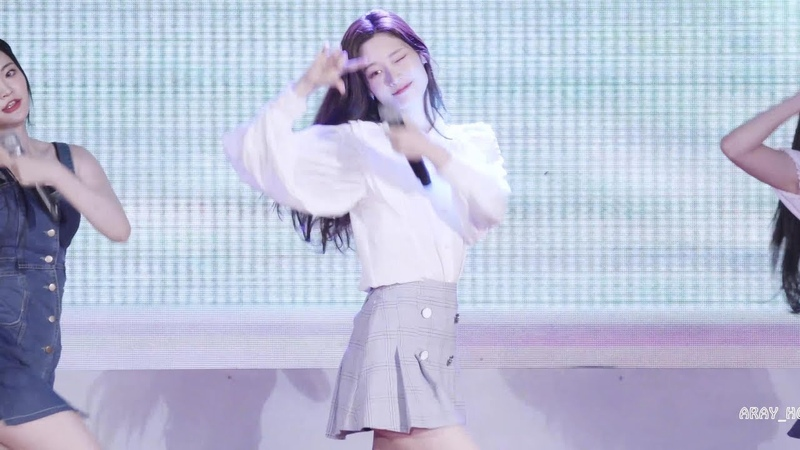 4k 190810 다이아 DIA 정채연 Jung ChaeYeon 나랑 사귈래 Will you go out with me @목포 직캠 FANCAM