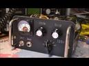 EL41 Vacuum Tube QRP CW Transtmitter