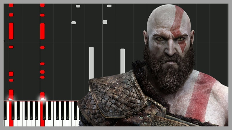 God of War 4 - Main Theme [Piano Tutorial] (Synthesia) Steffan Kaye