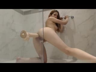 I play in the shower with a big dildo and cumming [throat solo blowjob dildo webcam chaturbate bongacams webcam teen anal]