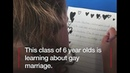 BBC video shows 6 year old schoolkids being made to write 'gay' love letters