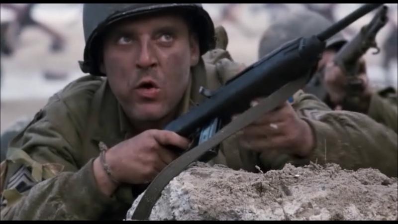 Американцы vs немцов Спасти рядового Райана