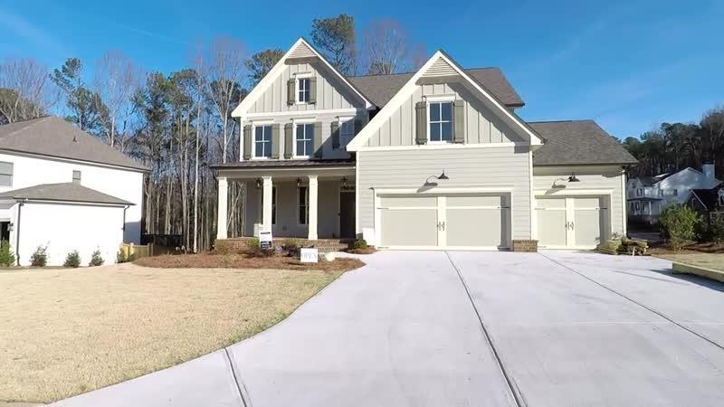 New 5 Bdrm Basement Home for Sale in N Atlanta w 3 Full Baths 3 Car Garage