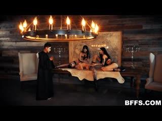 [BFFS] Leda Elizabeth, Charlotte Sartre, Harlowe Blue - Dark Ritual Dick
