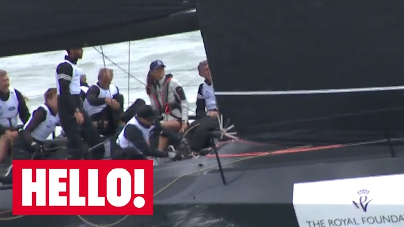 Duchess of Cambridge features in charity yachting regatta | Hello