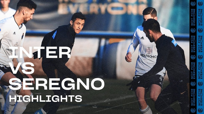 INTER 4 1 SEREGNO TRAINING MATCH HIGHLIGHTS Politano Esposito and Dimarco on the scoresheet!