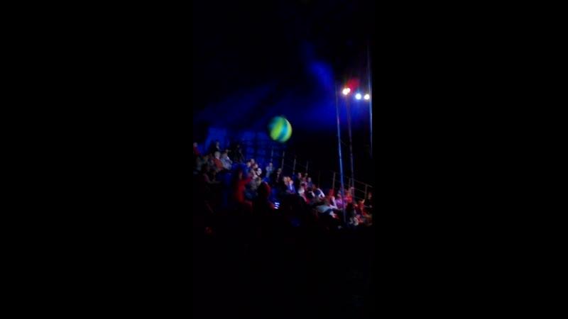 В цирке шапито Империал Новороссийск 26 04 2019 Клоун Шурик