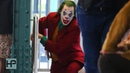 NEW VIDEO Joaquin Phoenix Films Chase Scene for 'Joker' Dashes on to Brooklyn Subway