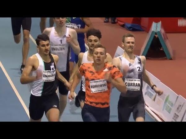 Men's 600m Race at AIT Grand Prix 2020