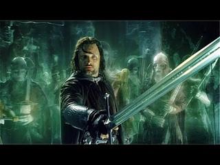 Арагорн призывает войско мёртвых на битву | Властелин колец: Возвращение короля