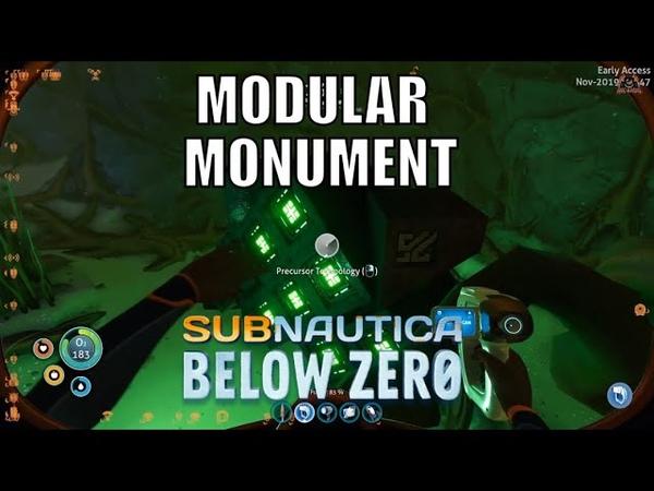 Subnautica Below Zero Finding the Modular Monument Precursor Technology