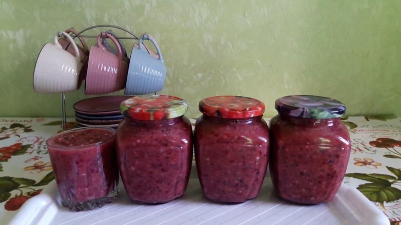 АДЖИКА ИЗ КРЫЖОВНИКА ( очень вкусный соус )