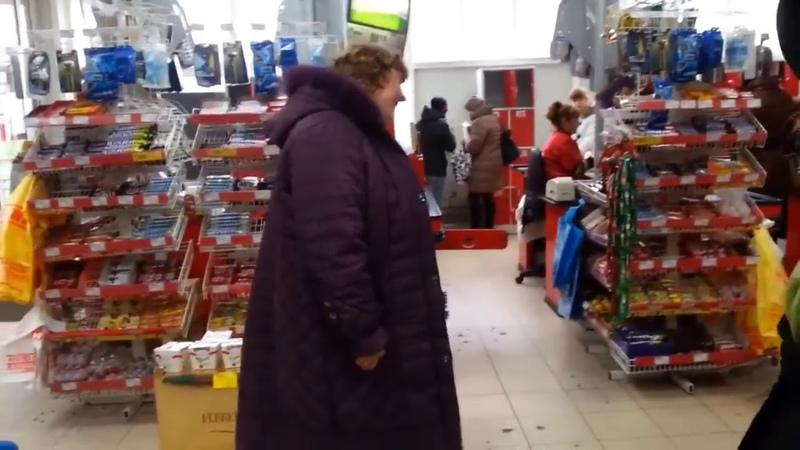 Чокнутая бабка в магазине смотреть онлайн бесплатно