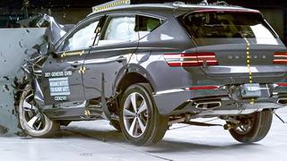 2021 Genesis GV80 crash test | Top Safety SUV
