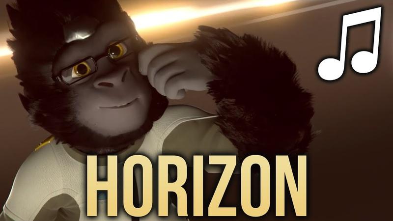 OVERWATCH SONG - Horizon (WINSTON RAP - RUSTAGE ft OzzaWorld) ♪