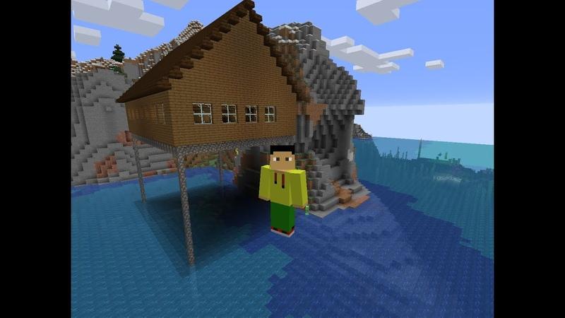 Minecraft) Майнкрафт 1.15.2 на карта домой работает глухой deaf