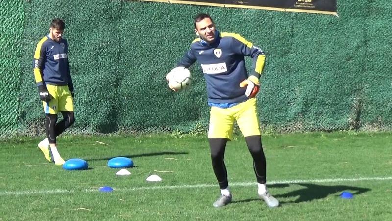 Goalkeepers training Petrolul Ploiești 2020 Coach Mihai Ștețca