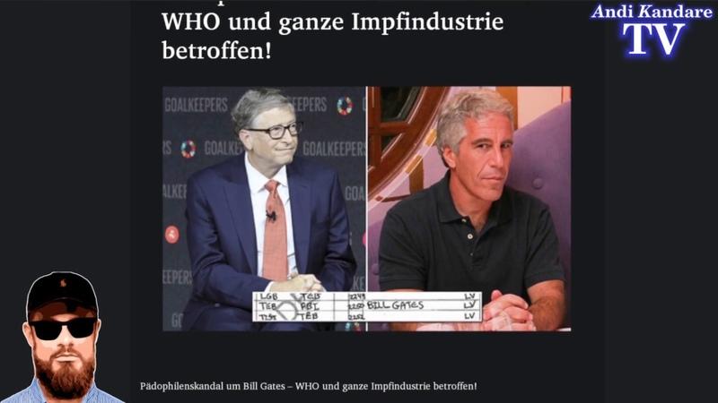 Pädophilenskandal um Bill Gates WHO und ganze Impfindustrie betroffen