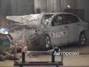 Крэш тест Лада Силуэт Lada Siluet crash test