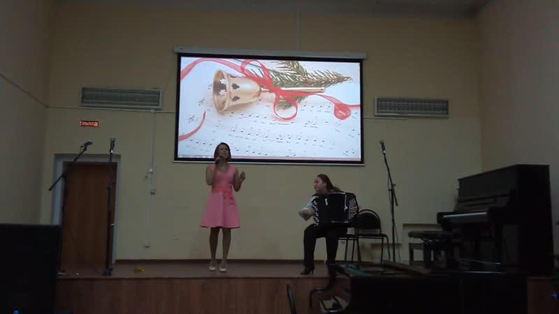 Концерт в Вытегорской школе искусств Фрагмент 4