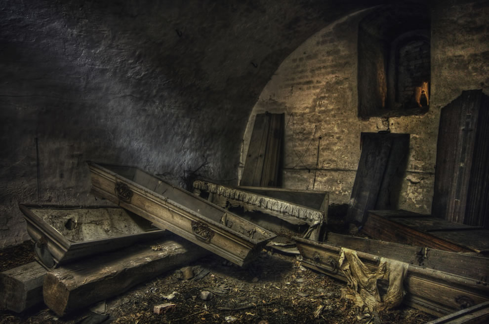 Андрэ Говиа: красивая и страшная заброшенная Европа