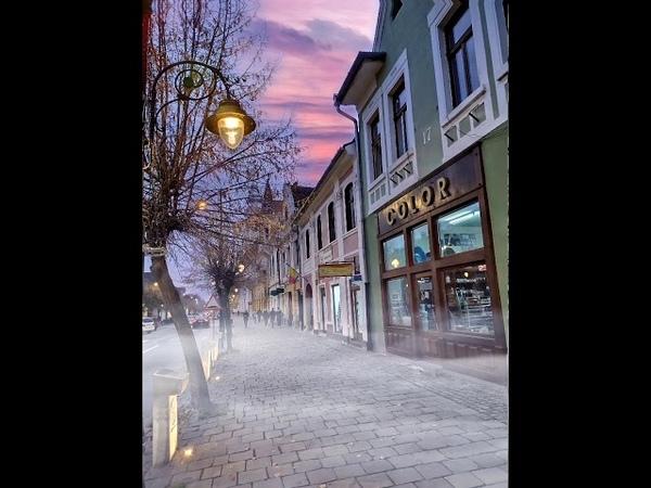 Romania - Bistrita - Noiembrie 2019,Strada Gheorghe Sincai
