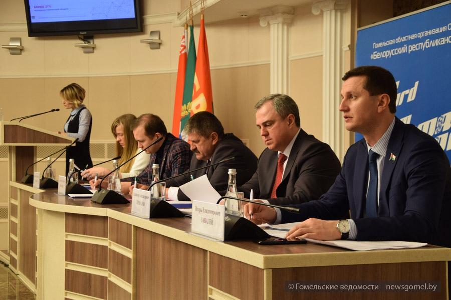 В Гомеле прошло заседание IX Пленума областного комитета ОО БРСM