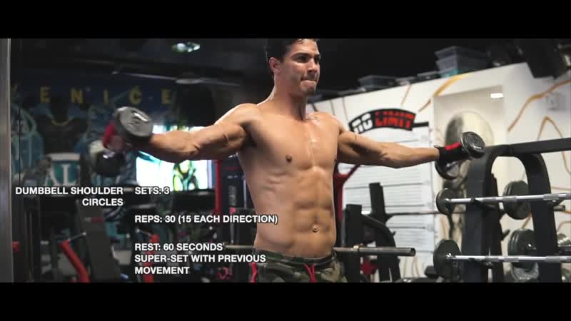 Muscle-Building Upper Body Workout - Chest, Shoulder, Triceps _ Brian DeCosta