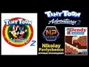Tiny Toon Adventures 2 полное прохождение Бастер Банни Nindendo,Dendy