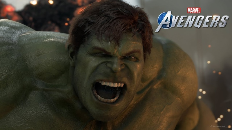 Marvel's Avengers: A-Day Prologue Gameplay Footage [EN ESRB]
