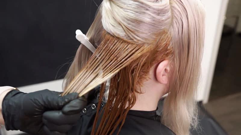 Из блонда в рыжий легко с эко косметикой NOOK💪🏻🔥🔝