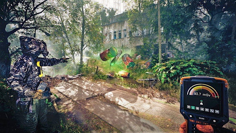 CHERNOBYLITE Gameplay Demo Open World Survival Horror Game 2019