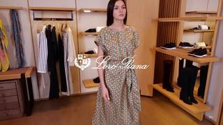 Новая коллекция Loro Piana // Женский образ // Фирменный бутик в Лакшери Store // Платья тренды 2020