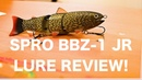 The lure challenge episode 1 SPRO BBZ 1 JR Lure Review