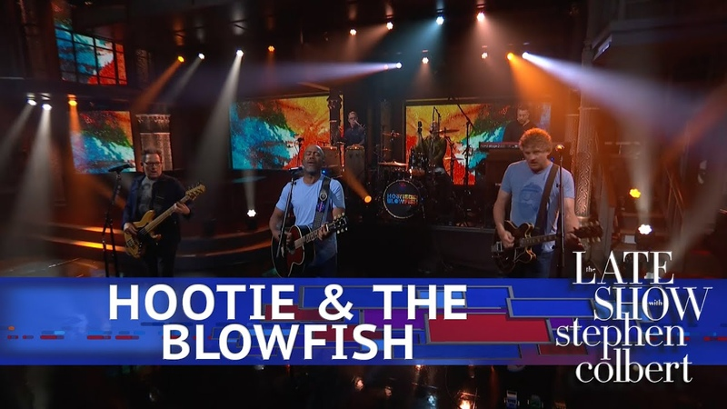 Hootie The Blowfish Perform 'Hold My Hand'