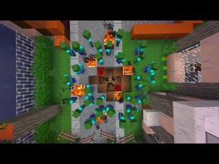 Они пытались выжить ЧАСТЬ 22 Зомби апокалипсис в майнкрафт! - (Minecraft - С