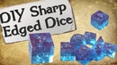 How to Make Your Own Dice Set Sharp Edge Gem Dice