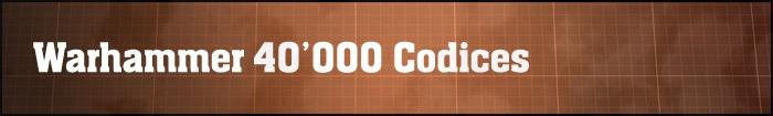 Warhammer 40'000 (8 редакция): Правила и кодексы | ВКонтакте