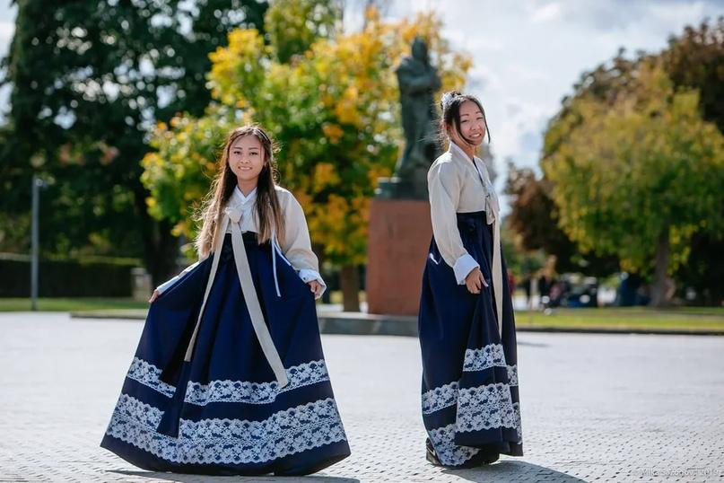 Корейские национальные костюмы