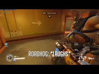Junkrat and Roadhog now have an interaction in Junkertown about The Queen.