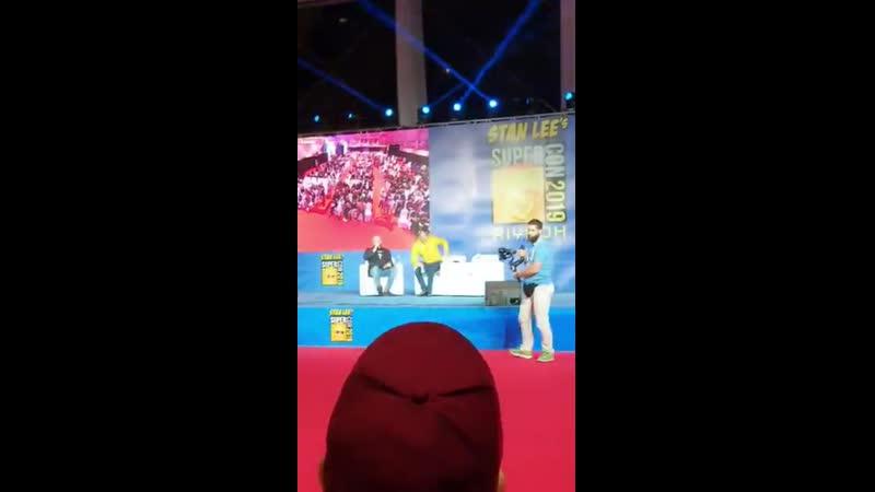 Mads Mikkelsen at Stan Lee's Super Con Riyadh 2019