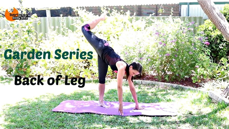Ballet Barre Glutes and Hamstrings workout BARLATES Garden Back of Legs Workout