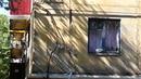 01.07.14.Краматорск после обстрела укрнацистами. Улица Б.Хмельницкого, школа №24.