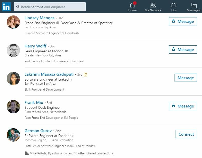 Как искать кандидатов в LinkedIn: пошаговая инструкция, изображение №3