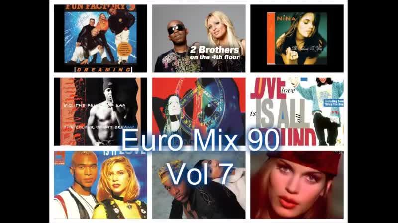 Euro 90 Mix Vol 7 (Twenty 4 Seven, Masterboy, Nina, Jam Spoon,Magic Affair)