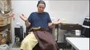 Банная мода из льна от Rusher мужской килт и женско-мужское парео.