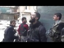 Jinn Caught on Back Ground While Syrian Mujahid calling Athan