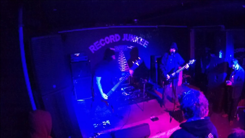 Khost Live at Record Junkee Sheffield 12 04 2019