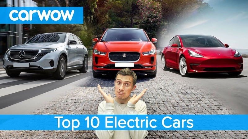 Tesla Model 3 Mercedes EQC Jaguar I Pace the best electric cars named