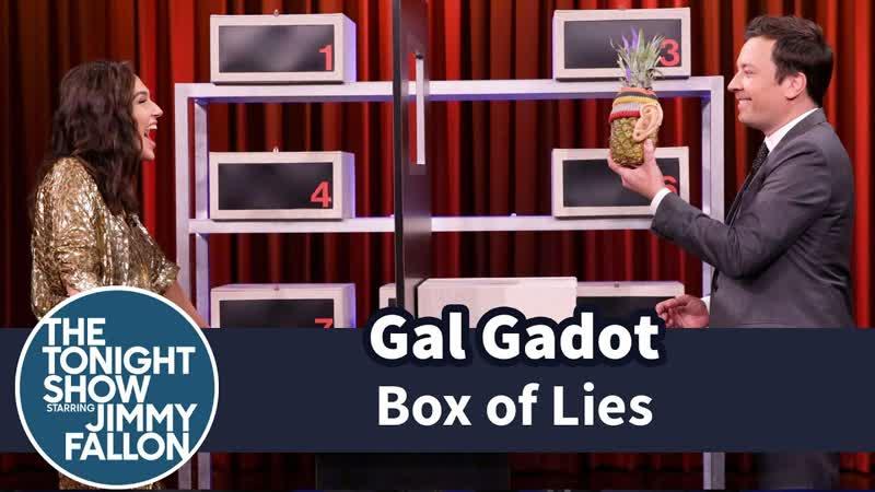 Box of Lies with Gal Gadot RUS SUB